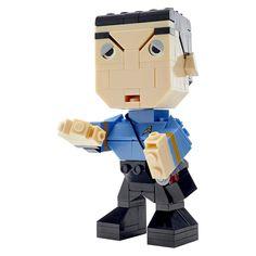 Mega Bloks Kubros Star Trek Spock Building Set - image 1 of 4