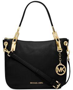 756bec2390a0 Michael Kors Handbag Brooke Medium Shoulder Tote in Black: Handbags:  Amazon.com Tommy