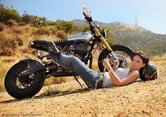 chick + bike