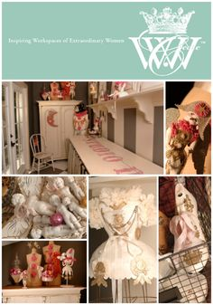 Dee Harvey & her studio are featured in the Feb/Mar/Apr '13 issue of Where Women Create magazine