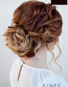 Love Updo hairstyles for long hair? wanna give your hair a new look? Updo hairstyles for long hair is a good choice for you. Here you will find some super sexy Updo hairstyles for long hair, Find the best one for you, Wedding Hair And Makeup, Hair Makeup, Hair Wedding, Hair Styles For Wedding, Curly Hair Updo Wedding, Wedding Bride, Wedding Up Do, Wedding Beauty, Trendy Wedding