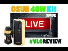 OSUB 40 Watt Kit   LIVE Vapelikegeek Review SMOK OSUB 40 Watt Kit   LIVE Vapelikegeek Review Περισσοτερες πληροφοριες εδω https://vapormania.gr/ 1350Mah μπαταρία Έλεγχο θερμοκρασίας για Ni200 SS316 και Ti 1W έως 40W 100C έως 315C Χαρακτηριστικά Helmet tank: 2ml χωριτηκότητα Γέμισμα και ρύθμιση αέρα από πάνω Δέχεται ατνιστάσεις: 0.4Ohm 0.85Ohm και 1.0Ohm Tank σε σχήμα U για μηδενικές διαρροές Childproof πάνω μέρος TPD Ready…