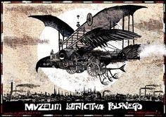 Poster for the Polish Aviation Museum by Ryszard Kaja, 2002
