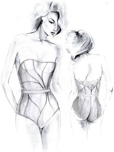lingerie illustration