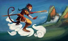 Sun Wukong the Monkey King by funzee.deviantart.com on @deviantART