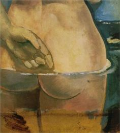 Nude in the Water -1925 by Salvador Dali . Post-Impressionism