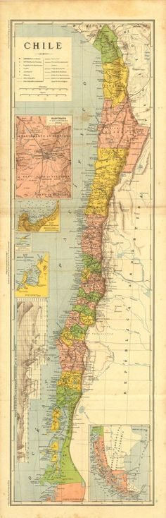 South America Dreams Pinterest South America Vintage And - Argentina map vintage