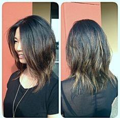 Bayalage highlights. Summer 2014 hair color.