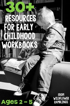 For when you don't have time to print those great printables. Preschool workbook resources by subject for learning at home.
