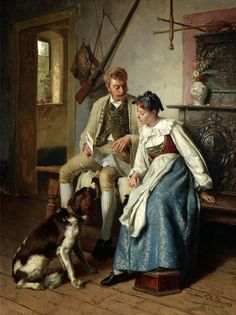 Theodore Gerard | Award Winning Belgian Painter (1829-1895)  #TheodoreGerard #Awardwinning #Belgianpainter #art #arts #painting #paintings #arthistory #fineart #fineartandyou