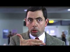 In Bean Mr Bean pretends to have a gun to amuse himself but weirdly Rowan Atkinson was given a gun to practice with on the day of shooting. Bean The Movie, Funny Faces Images, Face Images, Mr Bean Funny, Ben Elton, Richard Curtis, British Sitcoms, Sick Boy, Police Humor