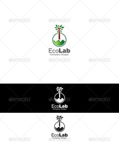 Eco Lab Logo - graphicriver sale