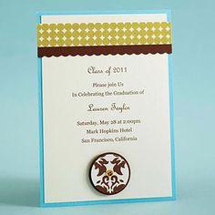 Elegant Grad Invite ( by Valerie Salmon)