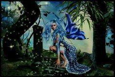 Blue Glitter Graphics | Glitter Graphics » Fantasy » Blue Fairy