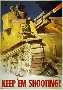 American Grant Tank. Was riveted, which led to fragmenting when struck by enemy shells. Last tank that I know of to have rivets.