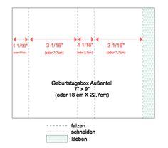 Schönes aus Papier handgemacht!: Geburtstagsbox mit Anleitung - Birthday Box Tutorial