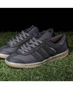 the best attitude 40e35 41373 Adidas Hamburg Gore Tex Core Solid Grey and Gum Trainer