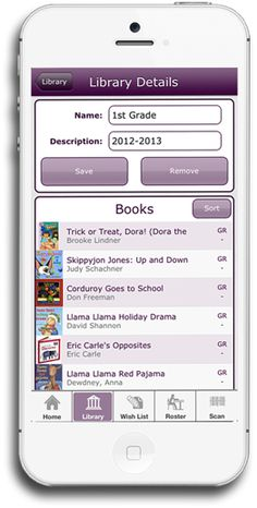 classroom library keeping my sanity with an app for book check out