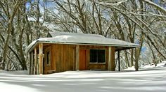 High Country Hut at Mt Stirling Snow Camping, Cross Country Skiing, Stirling, Perfect Place, Victoria, Australia, Cherry Blossoms, House Styles, Cabins