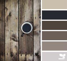 { rustic hues } image via: @julie_audet #color #palette #colorpalette #pallet #colour #colourpalette #design #seeds #designseeds