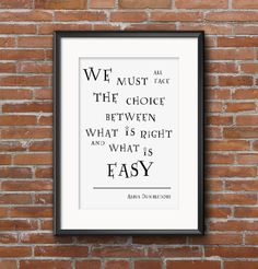 Buy 1 Get 1 Free Albus Dumbledore Quotes Harry von wazzupershop