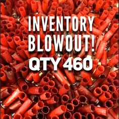 Red Empty Shotgun Shells 12 Gauge Shotshells Spent Hulls Used Fired 12GA – Empty ShotGun Hulls #ammocrafts #emptyshotgunshells #bulletjewelry #diyBoutonnieres