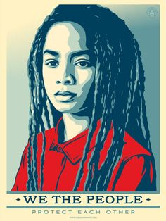 Shepard Fairey's 'We The People' Is A Campaign That Exemplifies What Art & Creativity Can Do | BL | Black Lion Journal | Black Lion