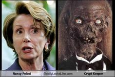 A lot is said about Nancy Pelosi, but one thing is for sure, if you want to know about the ends and outs of Obamacare there is no one better to corner and ask---after all, look at her face. She's clearly expert enough in the intricacies of medicine to do her own Botox.