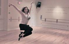 Alana Yost - Addicted 2 Dance - Alvas Wall Mount Adjustable and Fixed Ballet Barres #alvasbfm #balletbarres #alanayost #addicted2dance