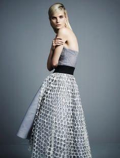 Its Dior, Darling: Anmari Botha Models Spring 2014 Couture for Tatler Hong Kong