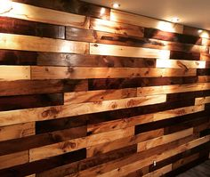 DIY wood wall from scratch