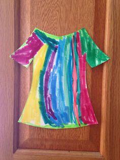 Joseph's Colorful Robe Craft - Kindergarten Craft - Bible Craft - Kids Craft