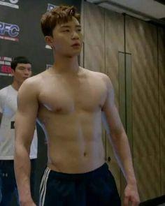 Park Seo Joon looking like a snack