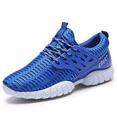 brand new 8f2ea 7a775 Men Sport Lace Up High Top Mesh Casual Brethable Shoes Top Shoes, Flat  Dress Shoes
