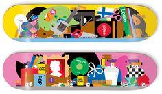 Bless This Mess: Enjoi skateboard decks designed by Craig & Karl
