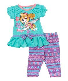 Teal PAW Patrol Tee & Pants - Infant, Toddler & Girls