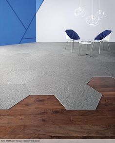 Alfombra Modular Hexagonal / Multicarpet | Materials de Plataforma Arquitectura