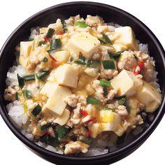 塩麻婆豆腐丼 | 瀬戸口しおりさんのどんぶりの料理レシピ | プロの簡単料理レシピはレタスクラブニュース