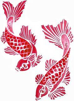 fish stencil - Google Search