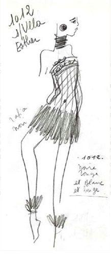 1967 - bambara collection dress