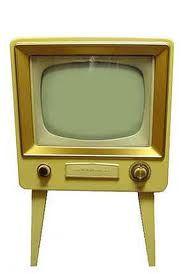 1950's TV set.