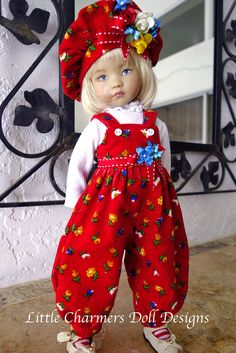 Outfit for Effner - Effner Little Darling. Corduroy. Little Charmers Doll Design #Unbranded