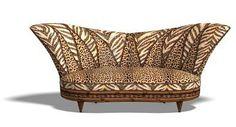 Animal Print Sofa~