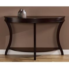 Wyatt Sofa Table: be ideal shape and size for front foyer area