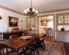 Gast Architects: Projects Traditional Dining Room Kitchen/Dining Room Pass  Through
