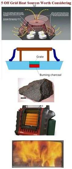 Preppers Survive | Off-grid heat sources worth considering | #prepbloggers #offgrid