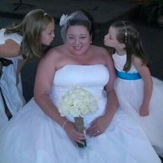 My Jr. Attendant & flower girl Wedding day