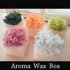 アロマワックスBOX  ローズ&ラベンダーの香り