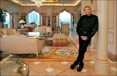 pictures of barry manilow house | Barry manilow's home at the Las Vegas Hilton