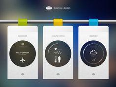 Digital Labels - Radium - Portfolio by Cosmin Capitanu
